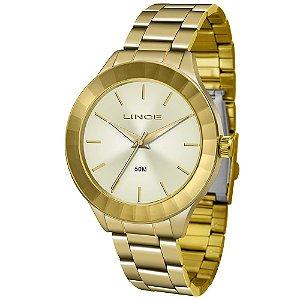 Relógio Lince Feminino Analógico Dourado LRG4592LC1KX