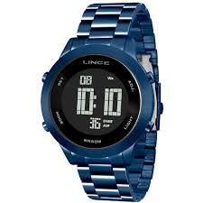 Relógio Lince Feminino Digital Azul SDPH082LPXDX