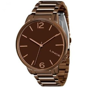 Relógio Lince Feminino Analógico Marrom Lrbj043ln2nx