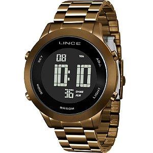 Relógio Lince Feminino Digital Marrom SDPH084LPXNX