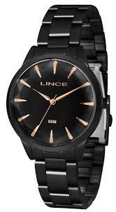 Relógio Lince Feminino Analógico Preto LRN4563L