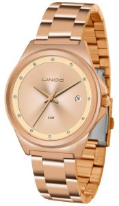 Relógio Lince Feminino Analógico Rose  LRR4567LR1RX