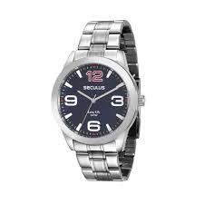 Relógio Seculus Analógico Masculino Prateado 28858GOSVNA1