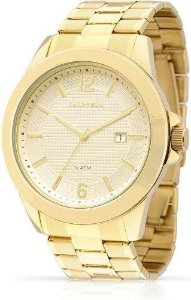 Relógio Feminino Technos Dourado 2115knp4x