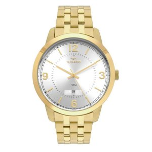 Relógio Analógico Technos Masculino Dourado 2115mtf4k