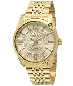 Relógio Condor Masculino Analógico Dourado Co2036dc4x