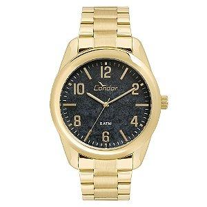 Relógio Condor Masculino Analógico Dourado Co2036kty4p