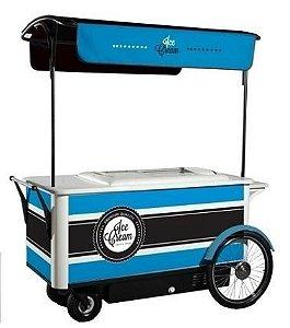 Carrinho Gourmet com freezer