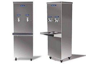 Bebedouro Industrial Max Gel Inox 25L 2 torneiras