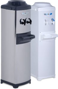 Bebedouro refrigerado modelo coluna (HCA e HCX)