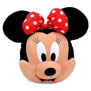 Almofada Infantil Pelúcia Disney Minnie Mouse