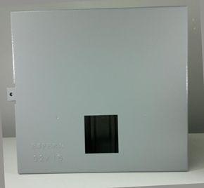 Caixa CEB para medidor Trifásica até 50A  Mod. P2 para Painel