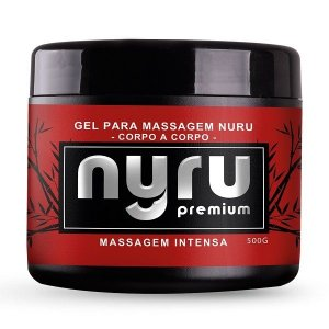 Nyru Premium Gel Massagem Corpo a Corpo 500g - Hot Flowers