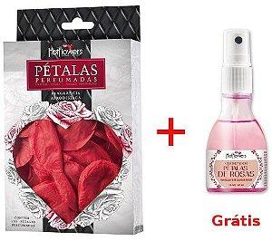 Pétalas Perfumadas + Grátis Odorizador Pétalas de Rosas - Hot Flowers