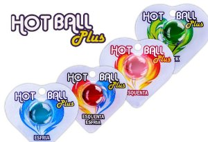 Bolinhas Hot Ball Plus Sensações - Hot Flowers