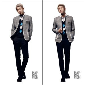 Capa de Dakimakura Médio Rap Monster  Bts Bangtan Boys 13