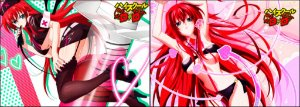 Capa de Travesseiro High School DXD Rias