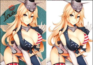 Capa de Travesseiro Kantai Collection - Iowa