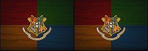 Capa de Travesseiro Harry Potter - Hogwarts
