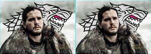 Capa de Travesseiro Game of Thrones Jon Snow