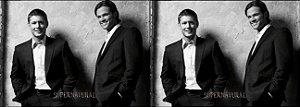 Capa de Travesseiro Supernatural Sam e Dean