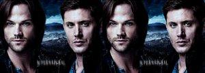 Capa de Travesseiro Supernatural irmãos Sam e Dean