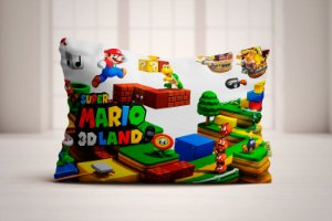 Travesseiro Super Mario Bros 3DLand