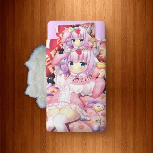 Lençol Solteiro Avulso Miss Kobayashi Dragon Maid - Kanna Kamui