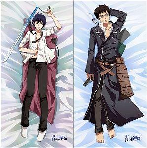Capa de Dakimakura Médio  Ao No Exorcist - Rin e Yukio