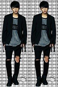 Capa de Dakimakura Oriental K-Pop Jungkook 3