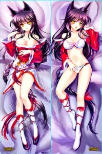 Capa de Dakimakura Oriental League of Legends - Ahri