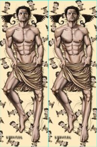 Capa de Dakimakura Oriental Supernatural - Castiel
