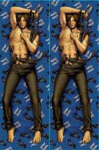 Capa de Dakimakura Oriental The Walking dead - Daryl