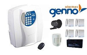 Kit de alarme residencial c/ discador telefonico
