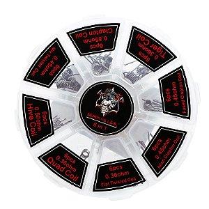 Kit Resistências Pré-Construídas Demon Killer 8 em 1 - 48 Peças