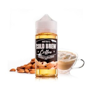 E-Liquido NITRO'S COLD BREW COFFEE Almond Cappuccino 100ML