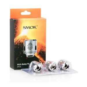 Smok Bobina (Resistência) p/ TFV8 X-Baby - T6 (Unidade)