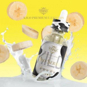 E-Liquido KILO MOO SERIES Banana Milk 60ML