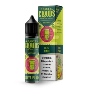 E-Liquido COASTAL CLOUDS OCEANSIDE SERIES Guava Punch 60ML