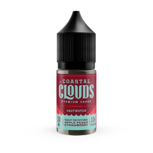 E-Liquido COASTAL CLOUDS SALT Apple Peach Strawberry 30ML