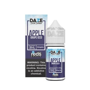 NicSalt REDS APPLE Grape Iced 30ML