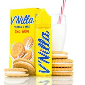 E-Liquido V'NILLA Cookies & Milk 60ML