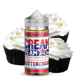 E-Liquido CREAM TEAM Buttercream 100ML