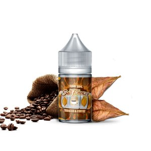 E-Liquido SALT FRENZY Salt Tobacco & Coffee 30ML