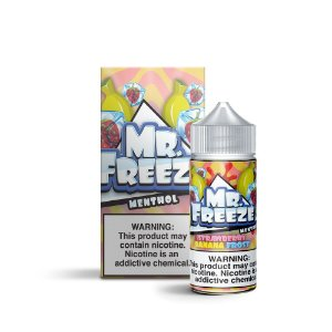 E-Liquido MR FREEZE Strawberry Banana Frost 100ML