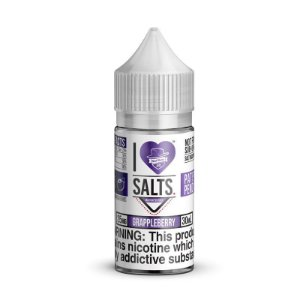 NicSalt MAD HATTER JUICE I Love Salts GrappleBerry 30ML
