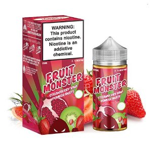 E-Liquido FRUIT MONSTER Strawberry Kiwi Pomegranate 100ML