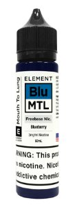 E-Liquido ELEMENT MTL Blueberry 60ML