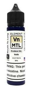 E-Liquido ELEMENT MTL Vanilla 60ML