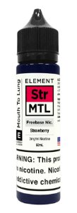 E-Liquido ELEMENT MTL Strawberry 60ML